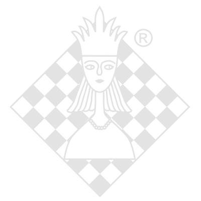 Cup with chess motive