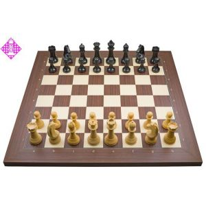 PC-Brett Bluetooth Rosenholz / Figuren FIDE