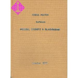 Chess Match Messrs. Steinitz & Blackburne