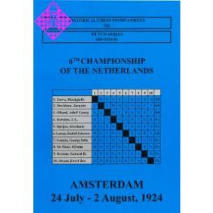 Amsterdam 24. July - 2. August, 1924