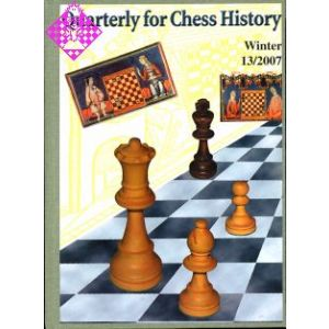 Quarterly for Chess History 13