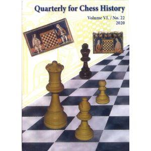 Quarterly for Chess History, Vol. 6, No. 22