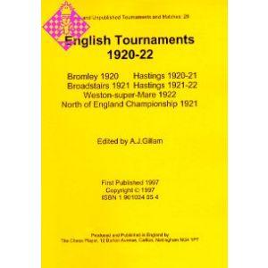 English Tournaments 1920-22
