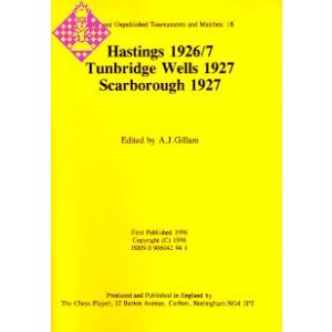 Hastings 1926/7, Tunbridge Wells 1927