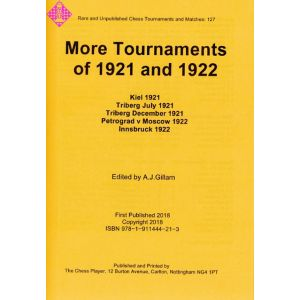 More Tournaments of 1921 and 1922