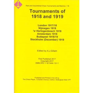 Tournaments of 1918 and 1919