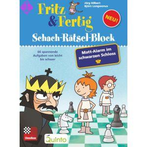 Fritz & Fertig Schach-Rätsel-Block 4