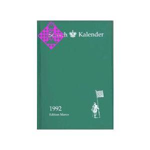 Schachkalender 1992