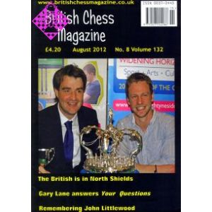 British Chess Magazine August 2012