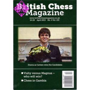 British Chess Magazine April 2013