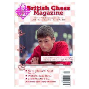 British Chess Magazine November 2013