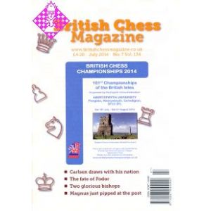 British Chess Magazine - July 2014
