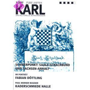 Karl - Die Kulturelle Schachzeitung 2007/3