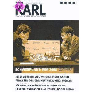 Karl - Die Kulturelle Schachzeitung 2008/4
