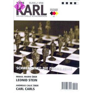Karl - Die Kulturelle Schachzeitung 2016/1