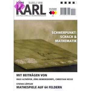 Karl - Die Kulturelle Schachzeitung 2016/2