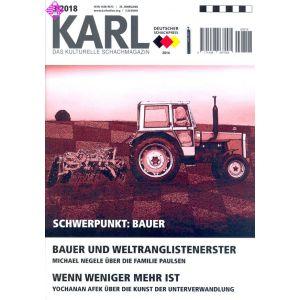 Karl - Die Kulturelle Schachzeitung 2018/3