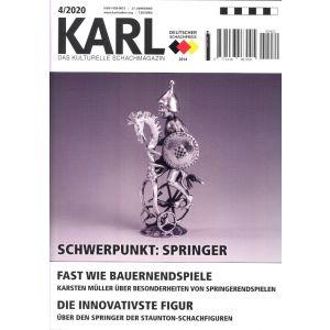 Karl - Die Kulturelle Schachzeitung 2020/4