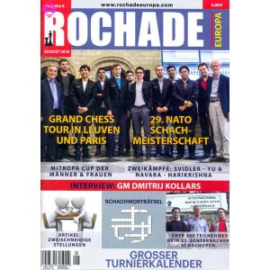 Rochade Europa / August 2018