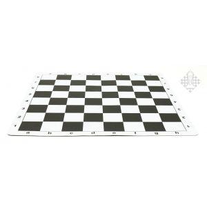 Schachplan, rollbar, schwarz/weiß