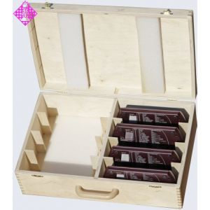 Wooden case for 8 x DGT 2000 / 2010