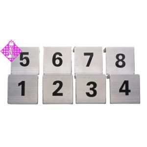 1 set of board-plates (1-8)
