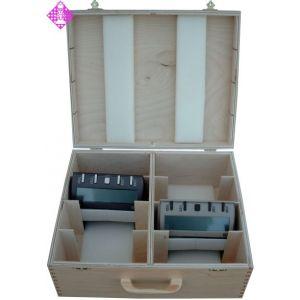 Wooden case for 8 x DGT 3000