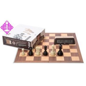 Chess Starter Box Braun