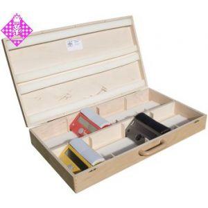 Koffer, Holz, für 8 x DGT Easy