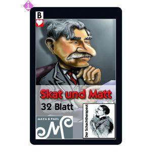 """Spielkartenset """"Skat und Matt"""""""