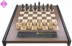 Revelation II mit Figuren Ebony