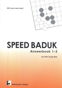Speed Baduk - Answerbook 1-3