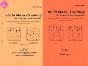 de la Maza-Training (Aufgaben- u. Lösungsheft)