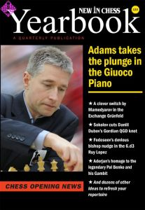 New in Chess Yearbook 133 -hardcover-