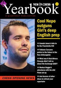 New in Chess Yearbook 135-138 paperback