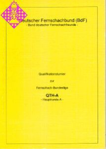 Qualifikationsturnier zur Fernschach-Bundesliga -