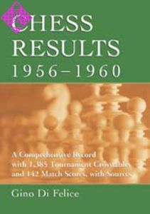 Chess Results, 1956 - 1960