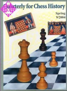Quarterly for Chess History 9 9