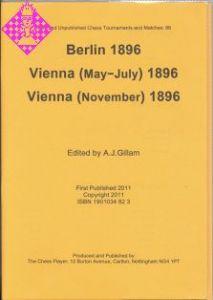 Berlin 1896, Vienna (May-July) 1896,