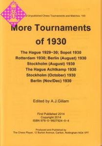 More tournaments of 1930