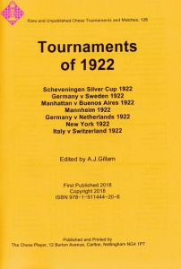 Tournaments of 1922