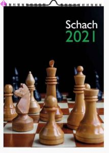 Wandkalender Schach 2021 (A3)
