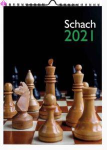 Wandkalender Schach 2021 (A4)