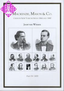 Mackenzie, Mason & Co. Part IV 1870