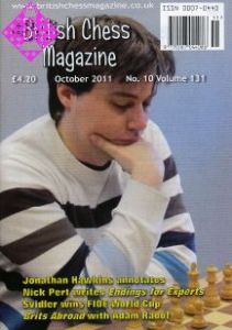 British Chess Magazine Oktober 2011