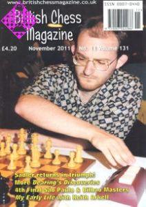 British Chess Magazine November 2011
