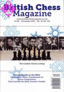 British Chess Magazine December 2012