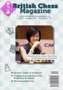 British Chess Magazine October 2013