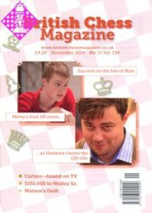 British Chess Magazine - November 2014