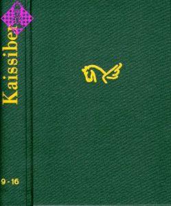 Kaissiber Jahrgänge 3 und 4